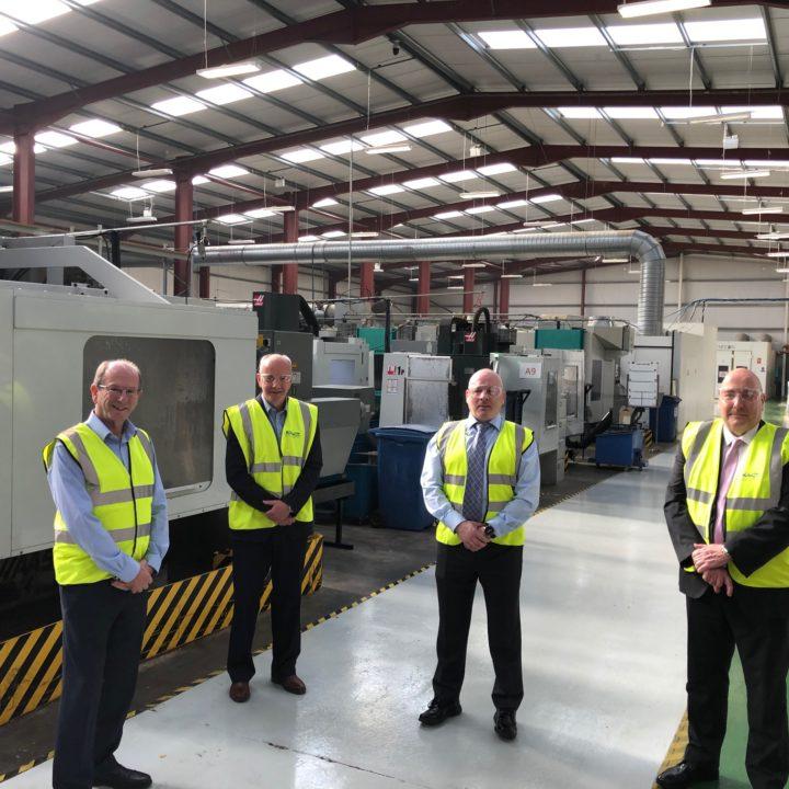 Aerospace Body Marks Newry Engineering Company's Silver Award