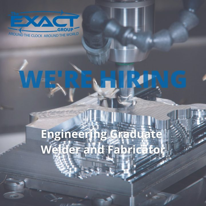We are hiring an engineering graduate and a welder and fabricator